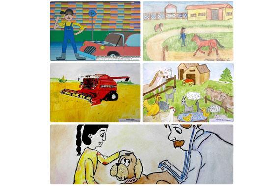 Выбираем победителя номинации «Приз зрительских симпатий» в конкурсе детских рисунков и сочинений «Дело моей мечты»