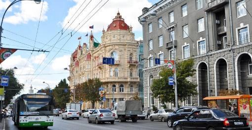 Улица Большая Садовая в Ростове-на-Дону